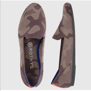 Rare NWT Rothy's Mink Camo Loafers